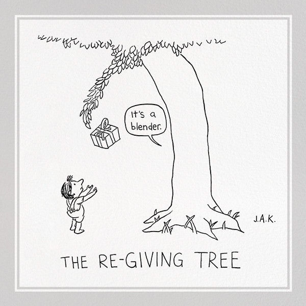 Re-Giving Tree - The New Yorker - Birthday