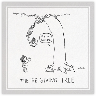 Re-Giving Tree - The New Yorker - Anniversary cards