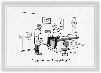 Shifting Contents - The New Yorker - Birthday