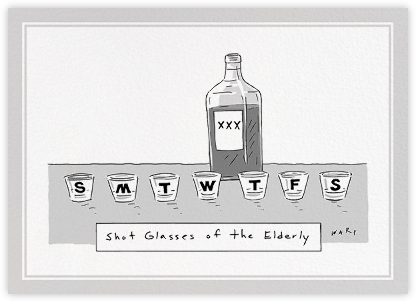 Prescription Drinks - The New Yorker - The New Yorker cards and invitations