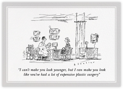 Plastic Surgery - The New Yorker - Birthday