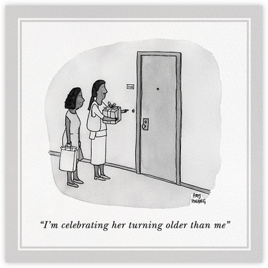 Older Than Me - The New Yorker - Birthday