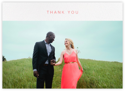 Tableau (Stationery) - Paperless Post - Wedding thank you cards