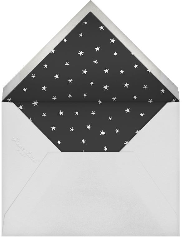 Nightly (Photo) - Celadon/Rose Gold - Paperless Post - Envelope
