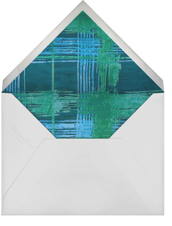 Different Strokes - Teal - Kelly Wearstler - Father's Day - envelope back