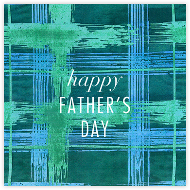 Different Strokes - Teal - Kelly Wearstler - Father's Day Cards