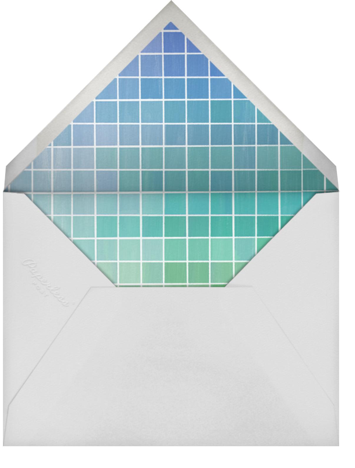 Jumble - Lagoon - Kelly Wearstler - General entertaining - envelope back