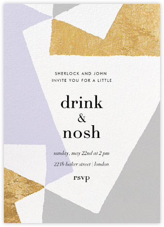 Jumble - Gold - Kelly Wearstler - Kelly Wearstler Invitations