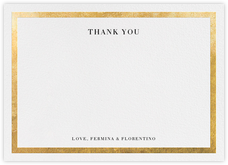Editorial II (Stationery) - White/Gold