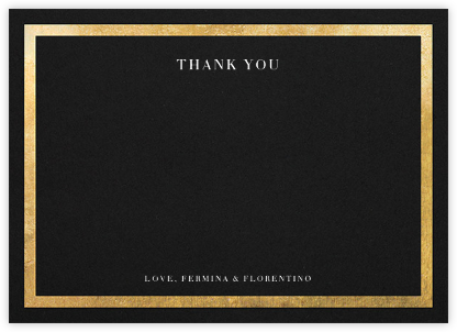 Editorial II (Stationery) - Black/Gold | null