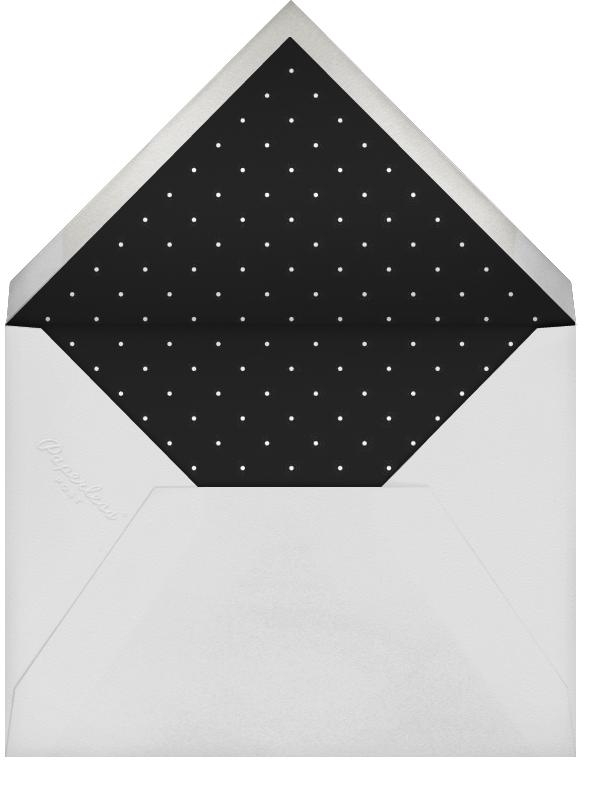 Editorial II (Stationery) - Meringue/Silver - Paperless Post - Wedding - envelope back