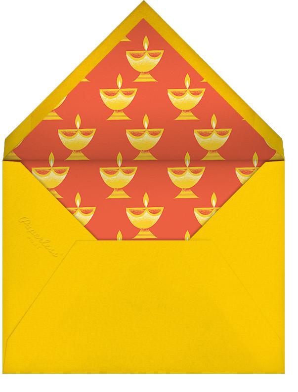 Diwali Lights (Invitation) - Paperless Post - Diwali - envelope back
