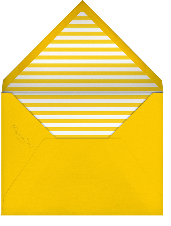 All About You - Paperless Post - Graduation thank you cards - envelope back