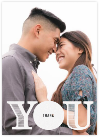 All About You (Photo) - Paperless Post - Online Thank You Cards