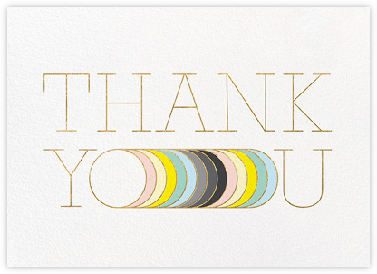 Extended Thanks - Paperless Post - Graduation Thank You Cards