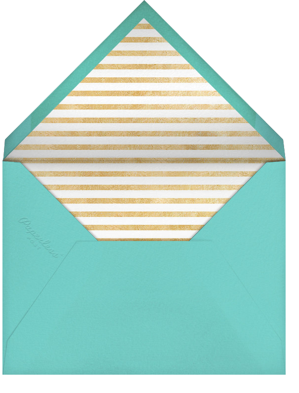 Extended Thanks - Paperless Post - Thank you - envelope back