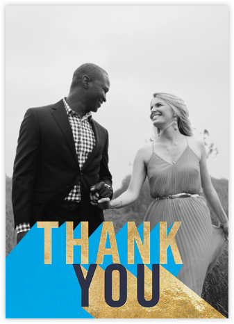 Featured Thanks (Photo) - Capri - Paperless Post - Online Thank You Cards