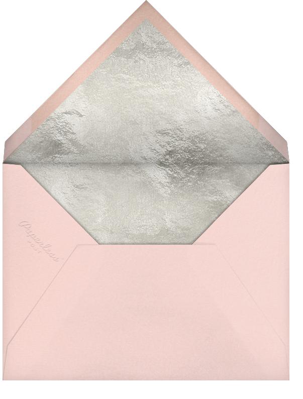 Grace and Gratitude (Gracias) - Silver - Paperless Post - Envelope