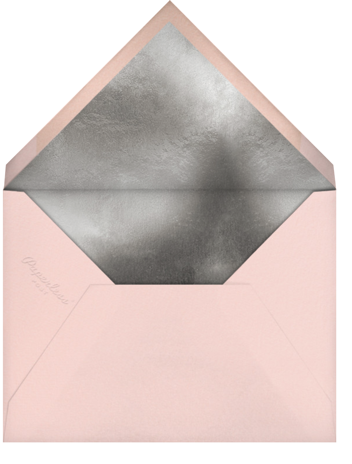 Grace and Gratitude (Thanks) - Rose Gold - Paperless Post - Thank you - envelope back