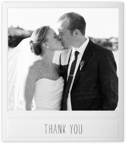 Snapshot - Paperless Post - Wedding thank you notes