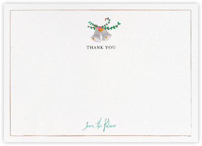 Miss Maizy Meanes (Stationery) - Mr. Boddington's Studio - Wedding thank you notes