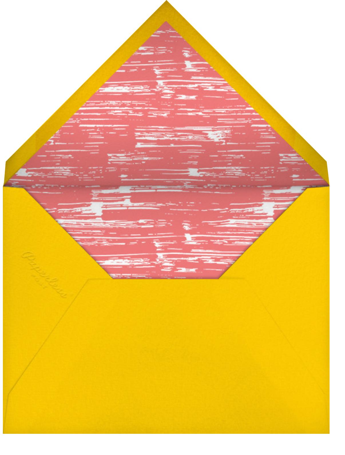 Spectrum of Gratitude - Paperless Post - Graduation thank you cards - envelope back