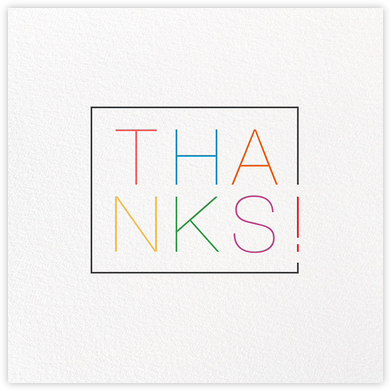 Thanks in a Box - Multi - Paperless Post - Online Thank You Cards