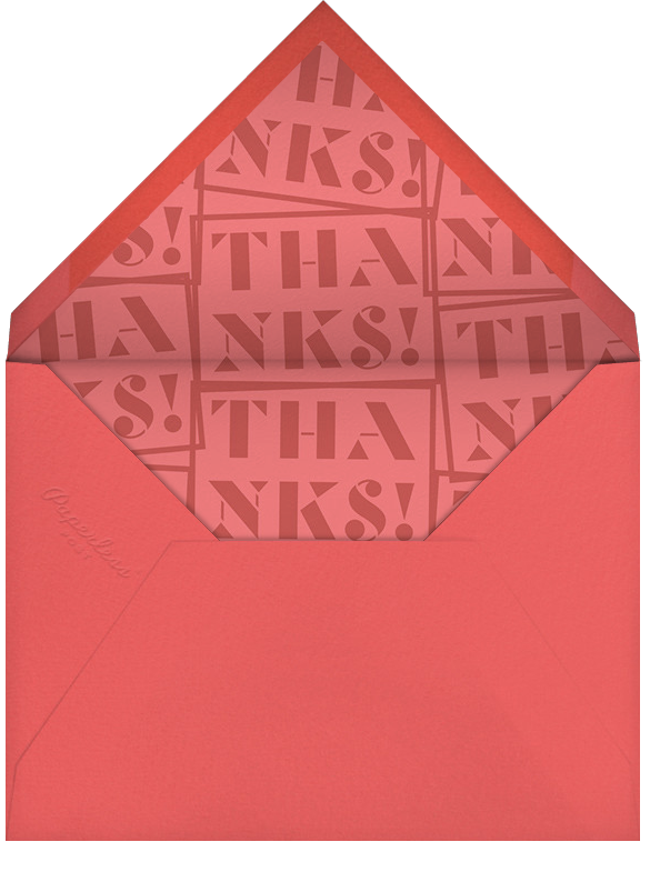 Thank You Stamp - Paperless Post - Graduation thank you cards - envelope back