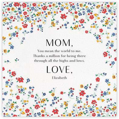 Kimberly Sarah - Liberty - Mother's Day Cards