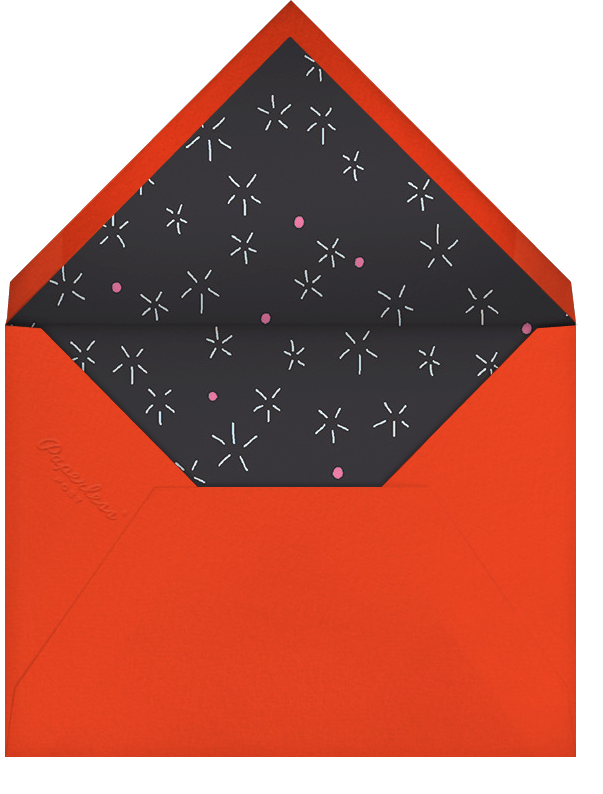 Firework Bouquet - Red/Blue - Paperless Post - Envelope