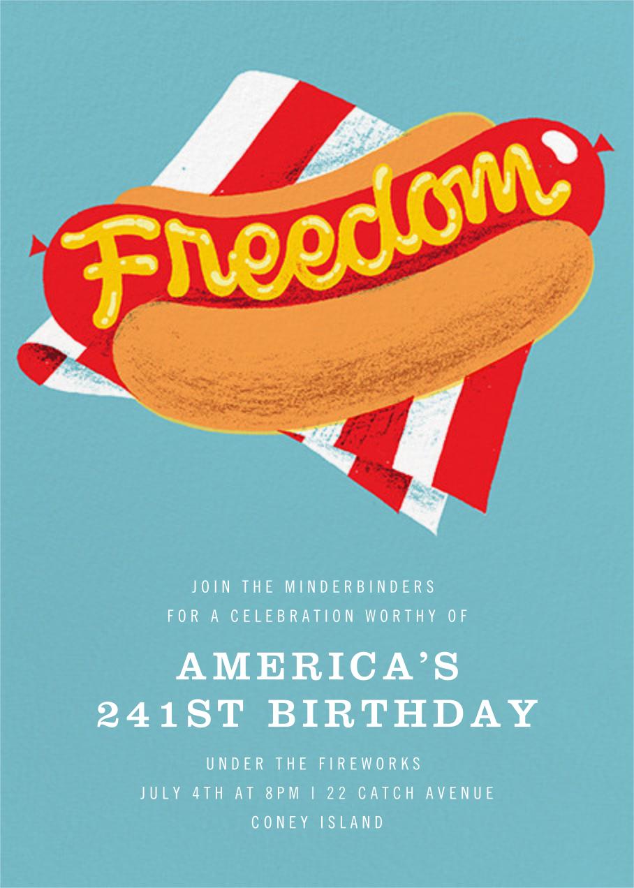 Freedom Frank - Paperless Post -