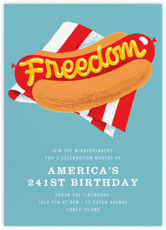 Freedom Frank - Paperless Post - Invitations