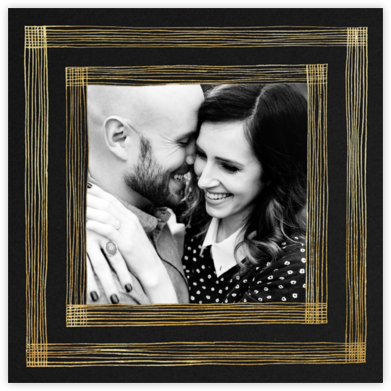 Precise (Photo) - Black/Gold - Kelly Wearstler - Save the dates