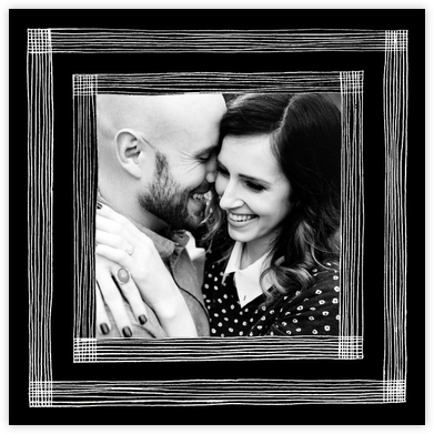 Precise (Photo) - Black/White - Kelly Wearstler - Save the dates