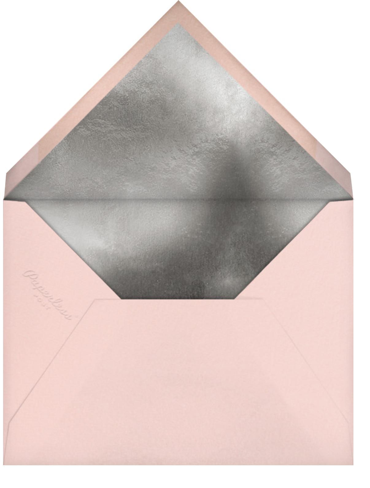 Grace and Gratitude (Merci) - Rose Gold - Paperless Post - Envelope