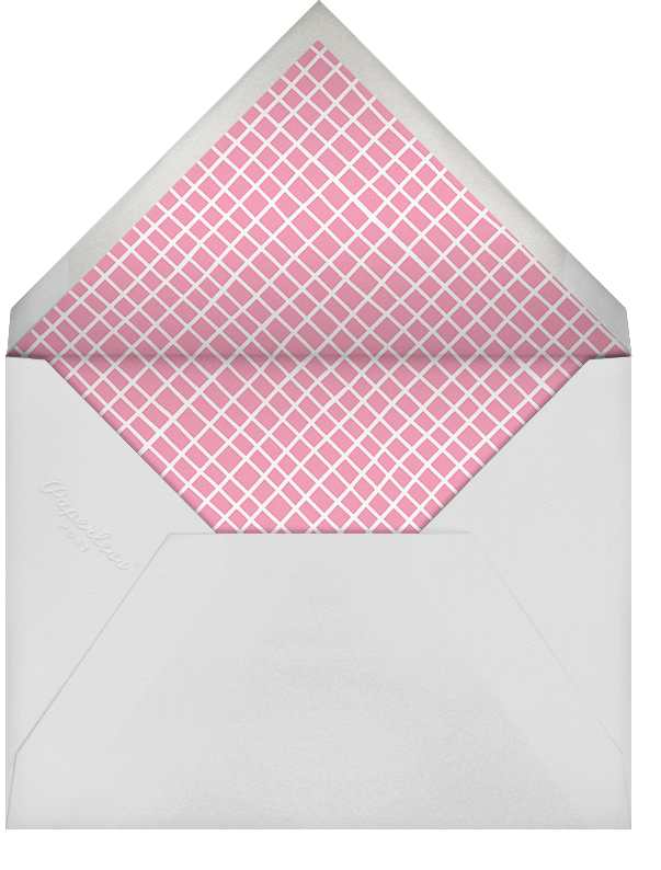 Gather the Girls - Pink - Paperless Post - Bachelorette party - envelope back