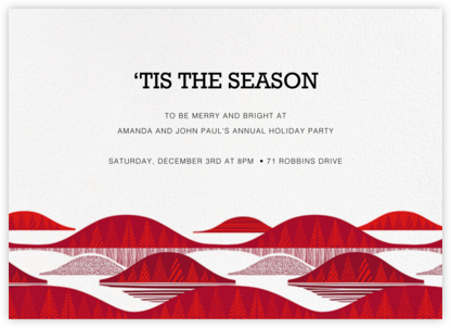 Kultakero - White - Marimekko - Holiday invitations