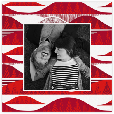 Kultakero (Photo) - White - Marimekko - Holiday Cards