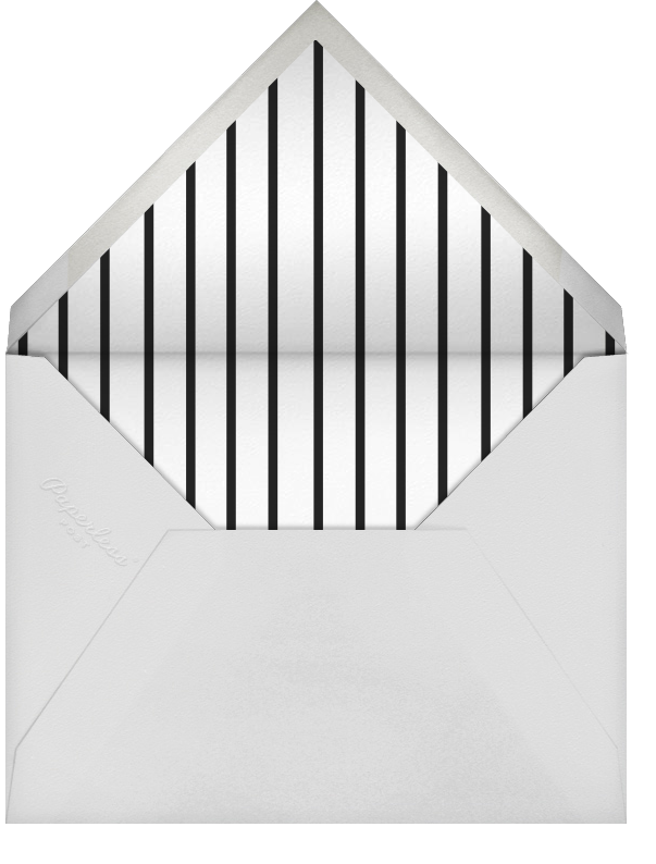 Underscore - Silver - Paperless Post - Holiday cards - envelope back