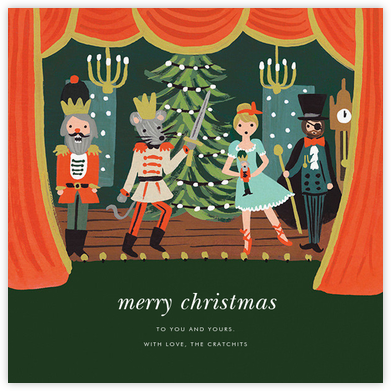 The Nutcracker Suite (Greeting) - Rifle Paper Co. - Holiday cards