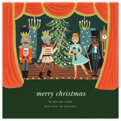 The Nutcracker Suite (Greeting) - Rifle Paper Co. - Christmas Cards