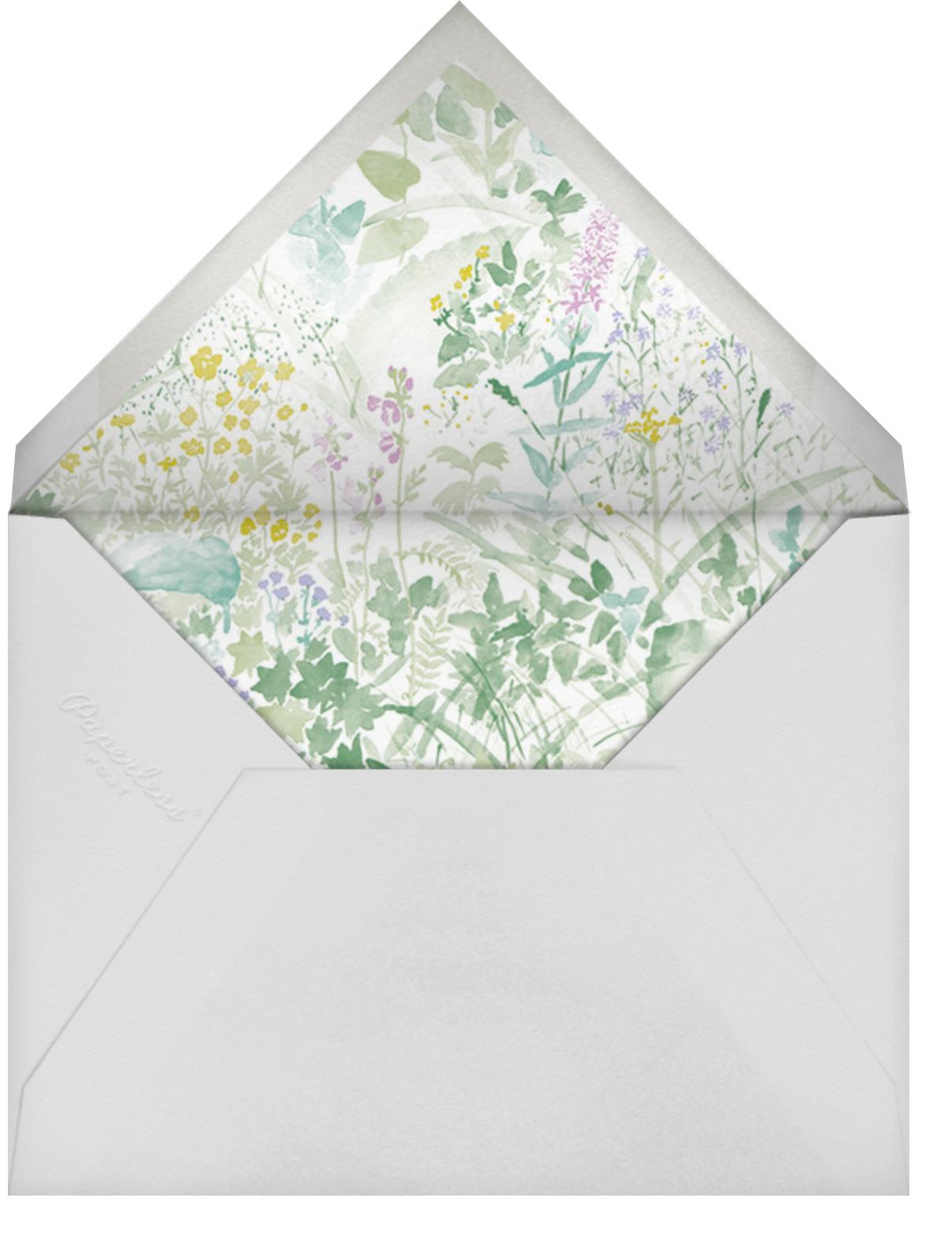 Kesanto (Square) - Marimekko - Mother's Day - envelope back