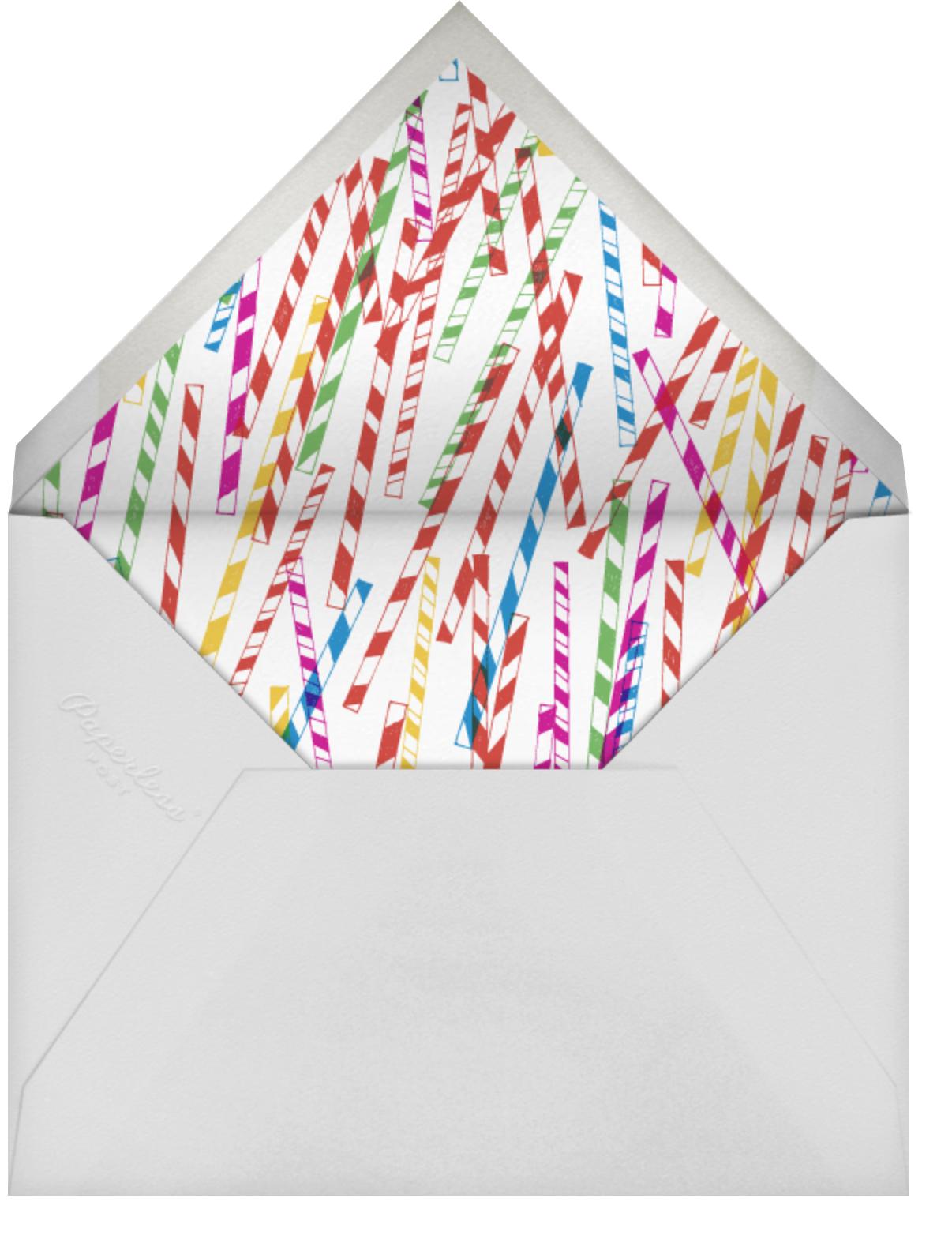 This Line is Tangled - Mr. Boddington's Studio - Save the date - envelope back