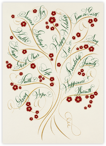 Tree of Life - Bernard Maisner - Holiday Cards