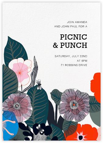 Kasvu - Red - Marimekko - Spring Party Invitations