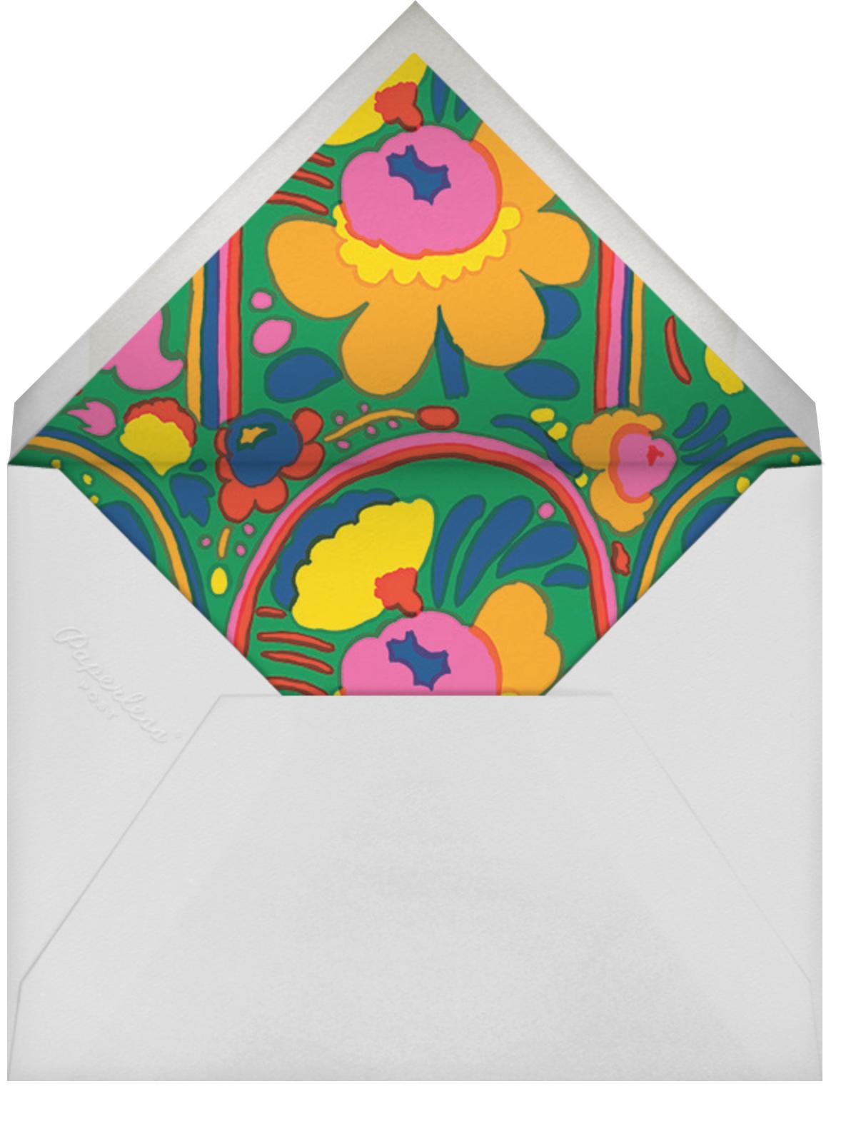 Pieni - Green - Marimekko - Adult birthday - envelope back
