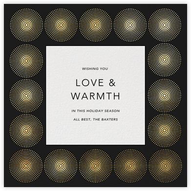 Santorini Too - Gold - Jonathan Adler - Dinner Party Invitations