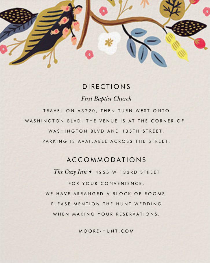 Egret Garden (Invitation) - Rifle Paper Co. - All - insert front