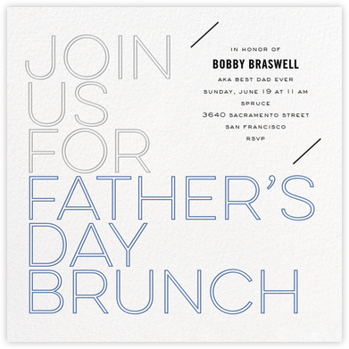 Brunch Outline - bluepoolroad - bluepoolroad invitations and cards