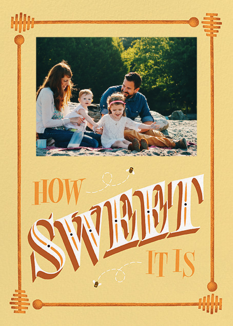 How Sweet It Is (Photo Greeting) - Paperless Post - Greeting cards